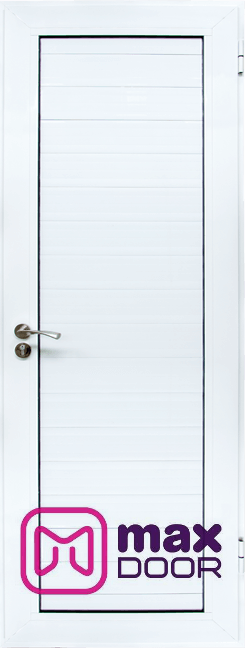 Алуминиева врата за баня, Бяла