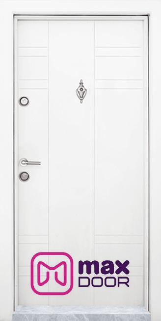 Блиндирана входна врата, модел Т-598 Бял