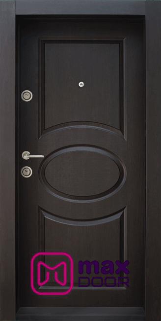 Блиндирана входна врата, BG 001 M, цвят Венге