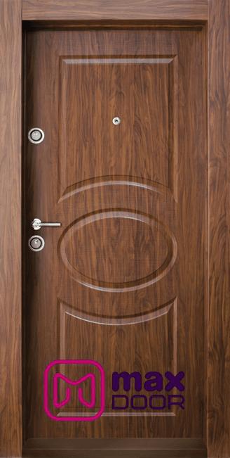 Блиндирана входна врата, BG 001 M, цвят Златен дъб