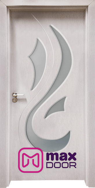 Интериорна врата Гама 203, цвят Перла