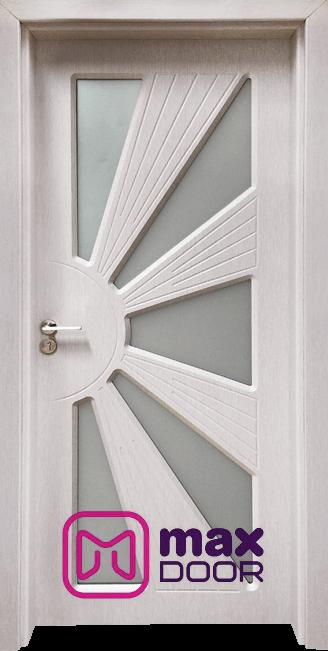 Интериорна врата Гама 204, цвят Перла