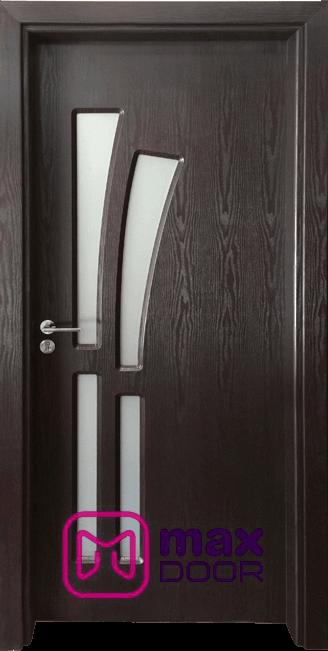 Интериорна врата Гама 205, цвят Венге